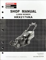 honda hrx217 type buy honda hrx217 vka lawn mower service repair shop manual in