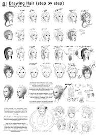 6 tutorial straight hair series page 6 by reirobin http