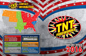 tnt fireworks wholesale catalog covers on behance