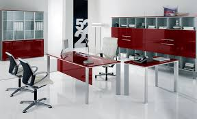 Contemporary Office Desk Furniture Office Bring Modern And Trendy Look With Glass Office Desk