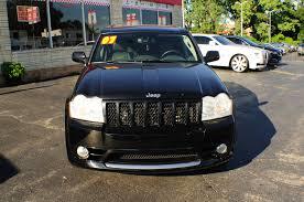 cherokee jeep srt8 2007 jeep grand cherokee srt8 black used suv sale