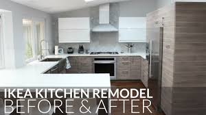 Kitchen Makeover Contest by Ikea Kitchen Remodel Before U0026 After Orange County Youtube