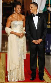 obama dresses obama state dinner dresses through the years