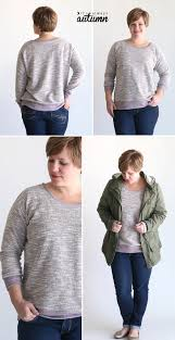 the perfect slouchy sweatshirt free pattern it u0027s always autumn