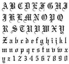 imagenes goticas letras moldes de letras góticas tattoos piercings pinterest tatoo