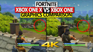 pubg xbox one x graphics fortnite xbox one x vs xbox one graphics comparison 4k 60 fps
