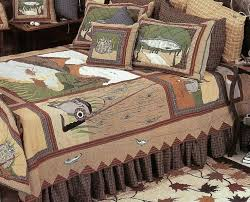 theme comforters cabin quilts cabin comforters and quilts fishing theme quilt
