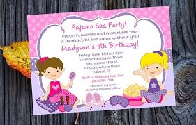 free printable spa birthday invitations 100 images invitations