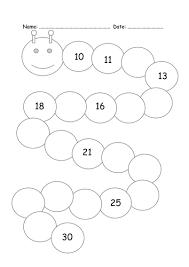 all worksheets number recognition worksheets 1 30 printable