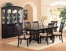 nice dining rooms coaster fine furniture 100181 monaco double pedestal dining table