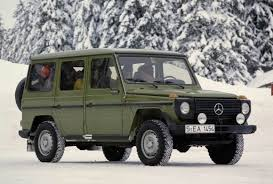 mercedes g class history history of the mercedes g wagen 1979 2009 modernoffroader