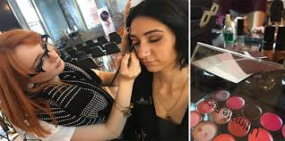 interested in professional makeup artistry presenting makeup at