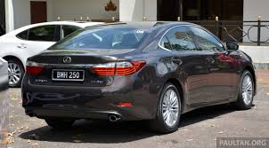 2012 lexus gs250 malaysia malaysian review 2013 lexus es250 and es300h sampled clublexus