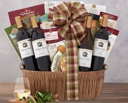 wine country basket hobson estate quartet gift basket at wine country gift baskets