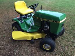 1985 deere 112l sweet lawn tractors