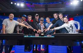 wsop final table the nine october nine is set for 2016 wsop main event final table