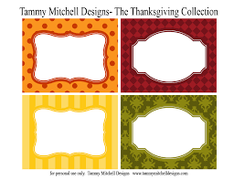 printable collections the thanksgiving collection tammy