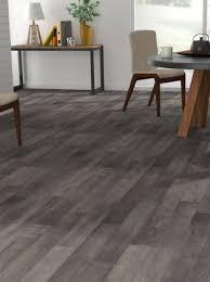 sol chambre sol vinyle imitation parquet gris lubé maclou
