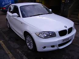 bmw white car bmw 118 wrapped gloss white wrapping cars