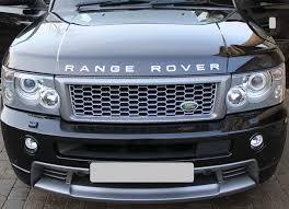 range rover light blue genuine range rover sport 2005 hst edition front bumper bodykit