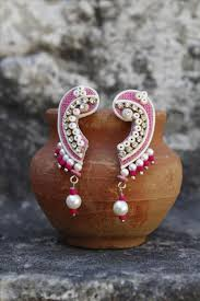 jute earrings online shopping jute earrings 526942
