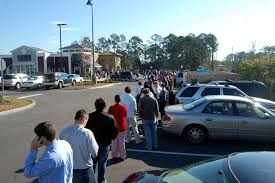 Olive Garden Online Job Application Unemployed Lines Throngs Turn Up For 220 Jobs At Red Lobster And