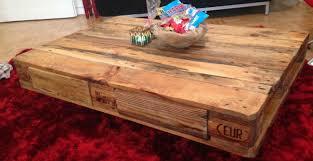Wohnzimmer Tisch Hoch Palettentisch Beistelltisch Couchtisch Aus Europaletten Selber