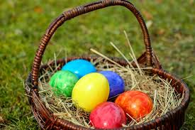 easter eggs free photo easter eggs basket egg color free image on