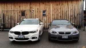 2015 bmw m3 and m4 2014 bmw m3 sedan with mineral white paint in