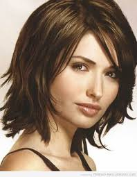medium length hairstyles for heavy set best 25 medium choppy hairstyles ideas on pinterest choppy