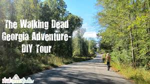 Georgia Road Map The Walking Dead Diy Adventure In Georgia With Map Tips And Pics