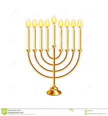 hanukkah candles for sale hanukkah menorah with candles vector stock vector illustration