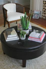 Glass Coffee Table Decor How To Style A Round Coffee Table Decor Fix