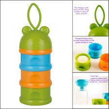 Formula Milk Storage Containers Safe Formula Dispenser Rushed Baby Food Container Doseur Lait