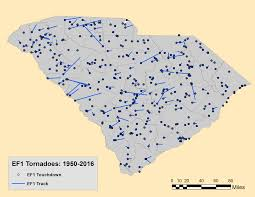 Map Of Sc Counties South Carolina State Climatology Office