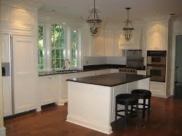 Kitchen Tile Backsplash Ideas With White Cabinets Kitchen Cabinets Off White Cabinets With Dark Hardware Arts And