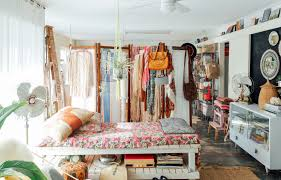 house tour boho maximalism in western australia apartment therapy