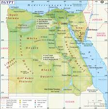 Picture Of Map Egypt Map Map Of Egypt