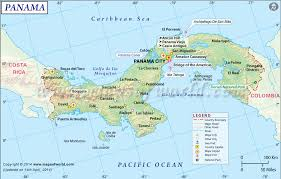 map of panama city panama map map of panama