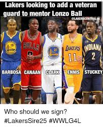 Lakers Meme - lakers looking to add a veteran guard to mentor lonzo ball 50 19