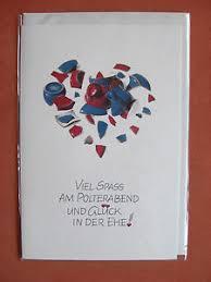 polterabend karten schöne glückwunschkarte zum polterabend karte glückwünsche wünsche