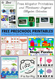 tons of free preschool worksheets u0026 printables