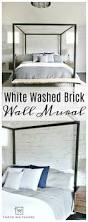 best 25 removable wall murals ideas on pinterest removable wall give your room dimension by adding an accent wall using a white washed brick wall mural from walls need love this is a removable wall mural that won t