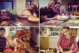 thanksgiving food photos celebuzz