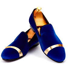 Wedding Shoes Blue Aliexpress Com Buy Harpelunde Slip On Men Wedding Shoes Blue