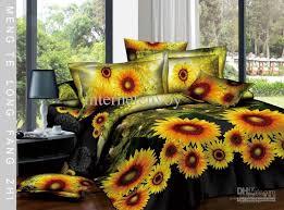 sunflower queen full bedding sets 100 cotton jpg 800 593