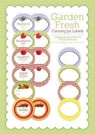 editable printable jar labels free canning jar lids by inktreepress com for all your jams sauces