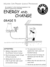 energy and change grade 5 english battery electricity ac