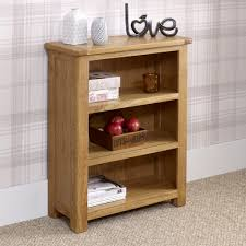 Low Narrow Bookcase by Manor Oak Small Low Bookcase