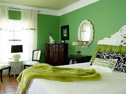 Green Color Bedroom Home Design Ideas - Green bedroom color